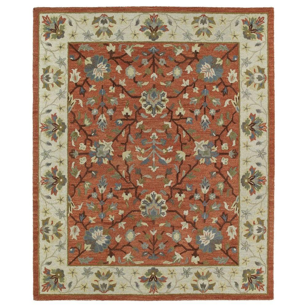 Kaleen Brooklyn Keaton Brick 2 ft. x 3 ft. Area Rug-5305-06