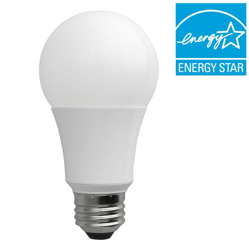 TCP Connected 60W Equivalent Daylight (5000K) A19 Smart LED Light Bulb