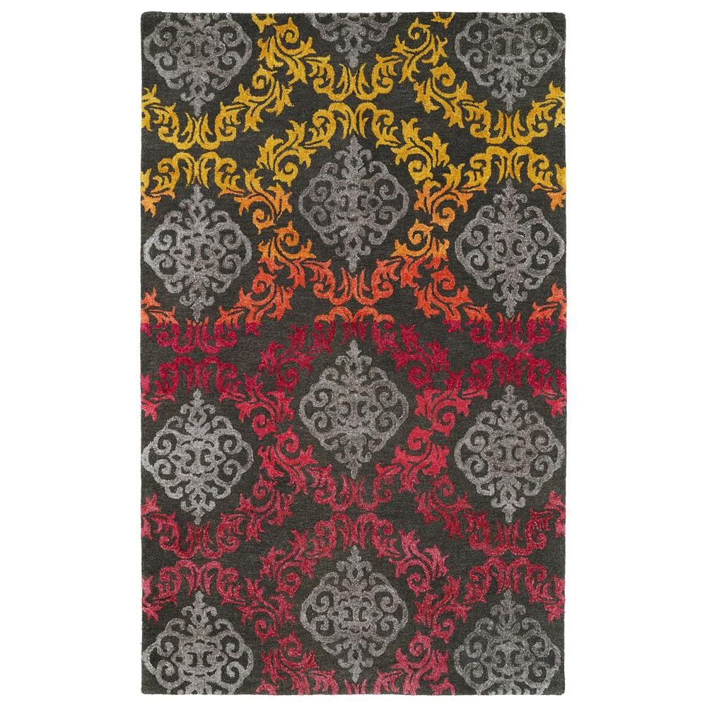 Divine Fire (Red) 8 ft. x 11 ft. Area Rug