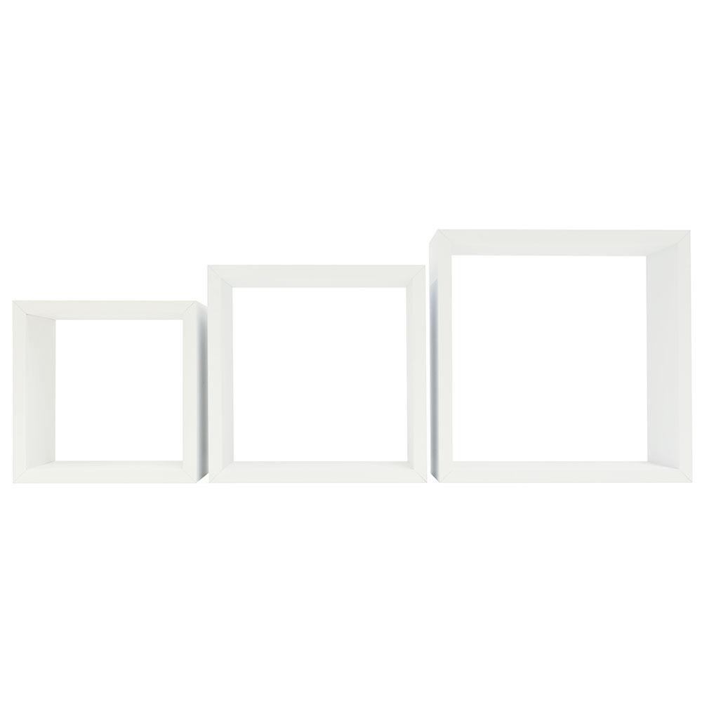 Wallscapes Storage Cube Kit 13.8125 in. W x 6.25 in. D Wh...
