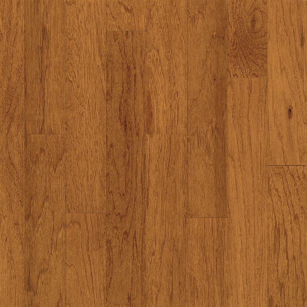 Take Home Sample - Town Hall Exotics Hickory Tequila Engineered Hardwood Flooring - 5 in. x 7 in.