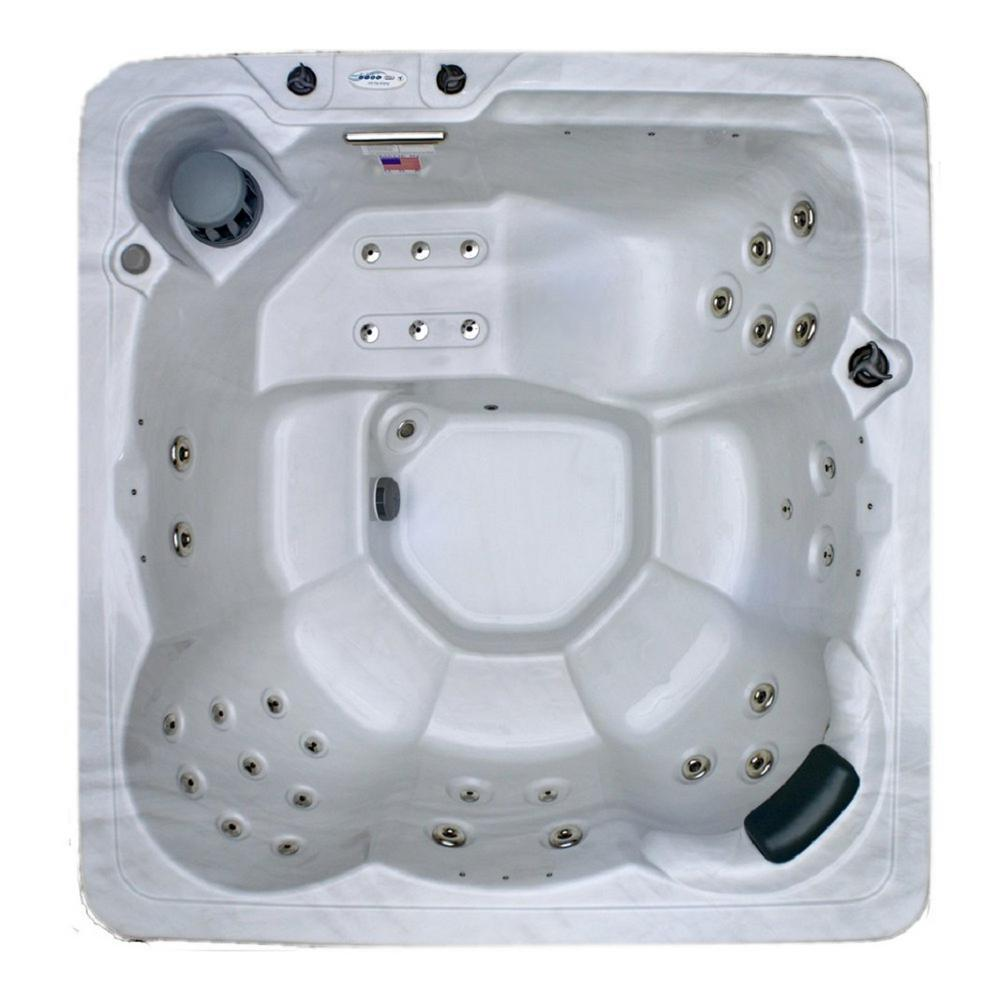 6 Person 34 Jet Spa with Stainless Jets and 110v GFCI