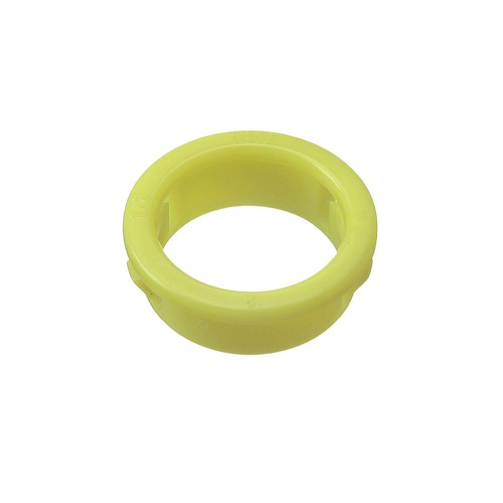 Halex 2-1/2 in. Plastic ACC Snap-In Bushing-72525 - The Home Depot