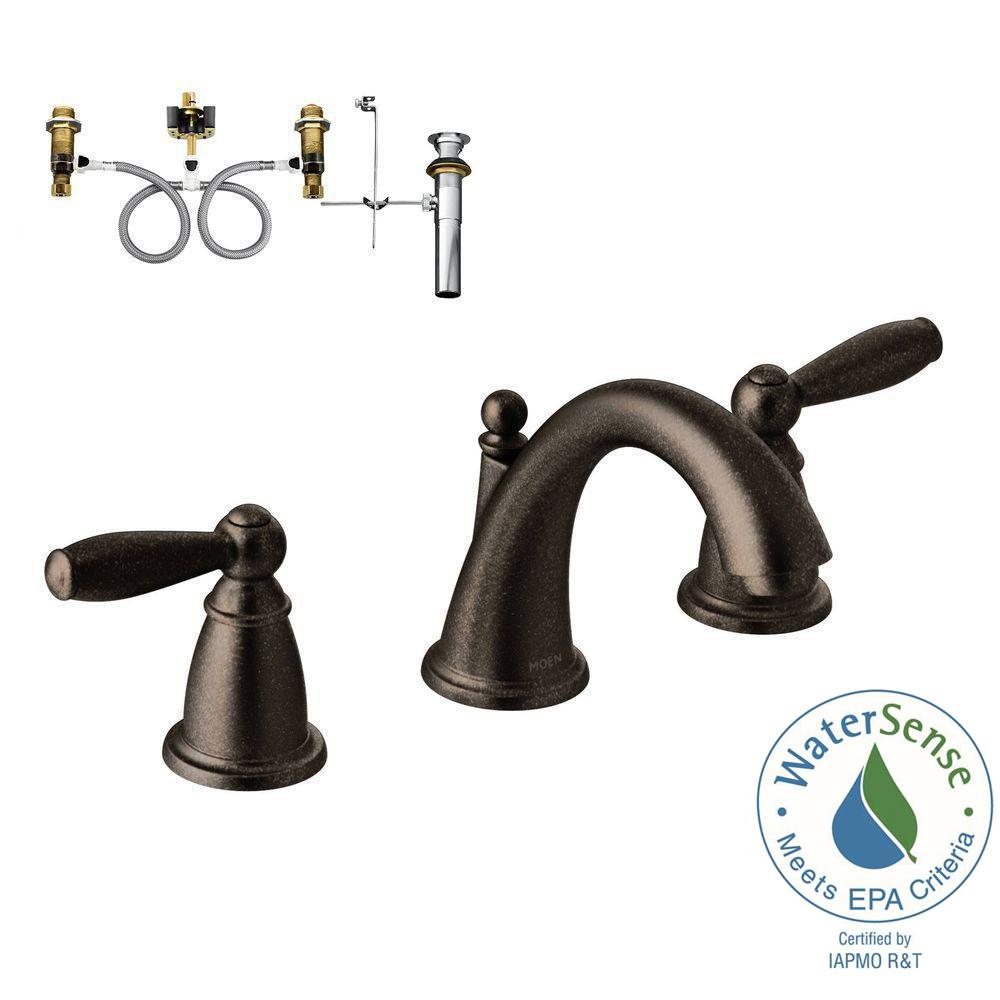 bronze bathroom sink faucets bathroom faucets the home depot