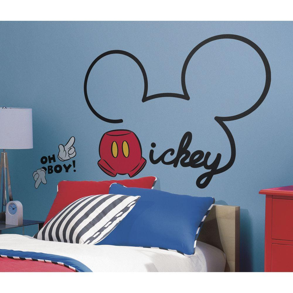RoomMates 5 in. x 19 in. Mickey & Friends - All