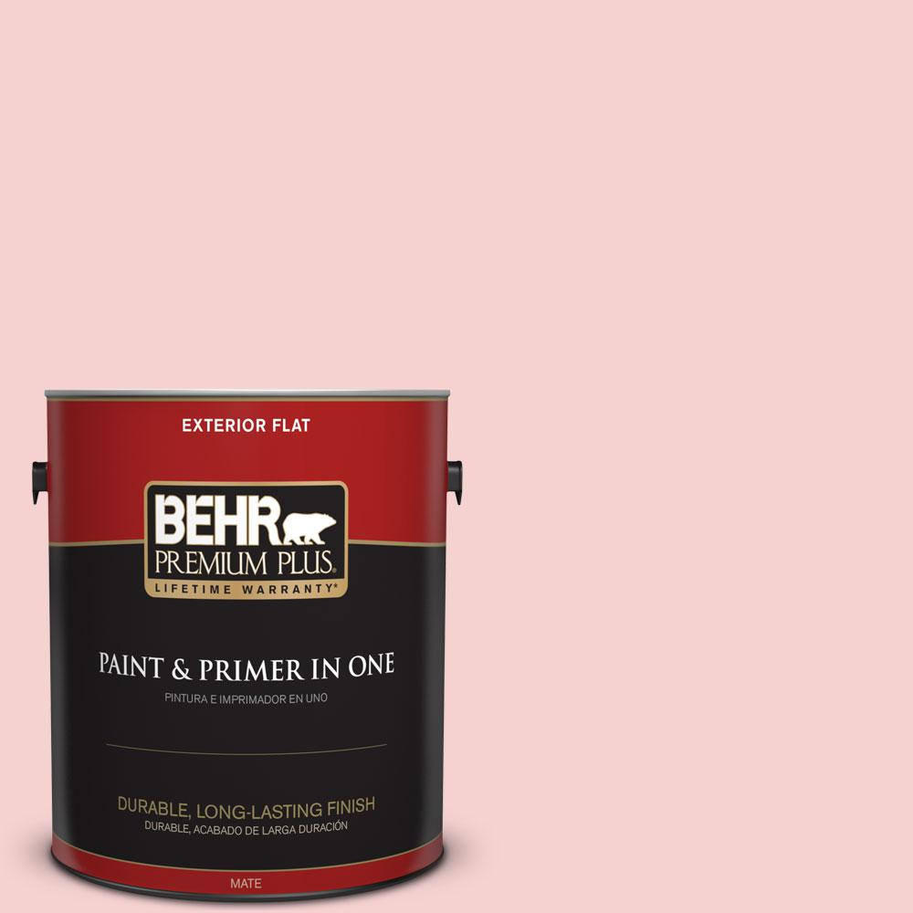 1-gal. #P170-1 Youth Blush Flat Exterior Paint