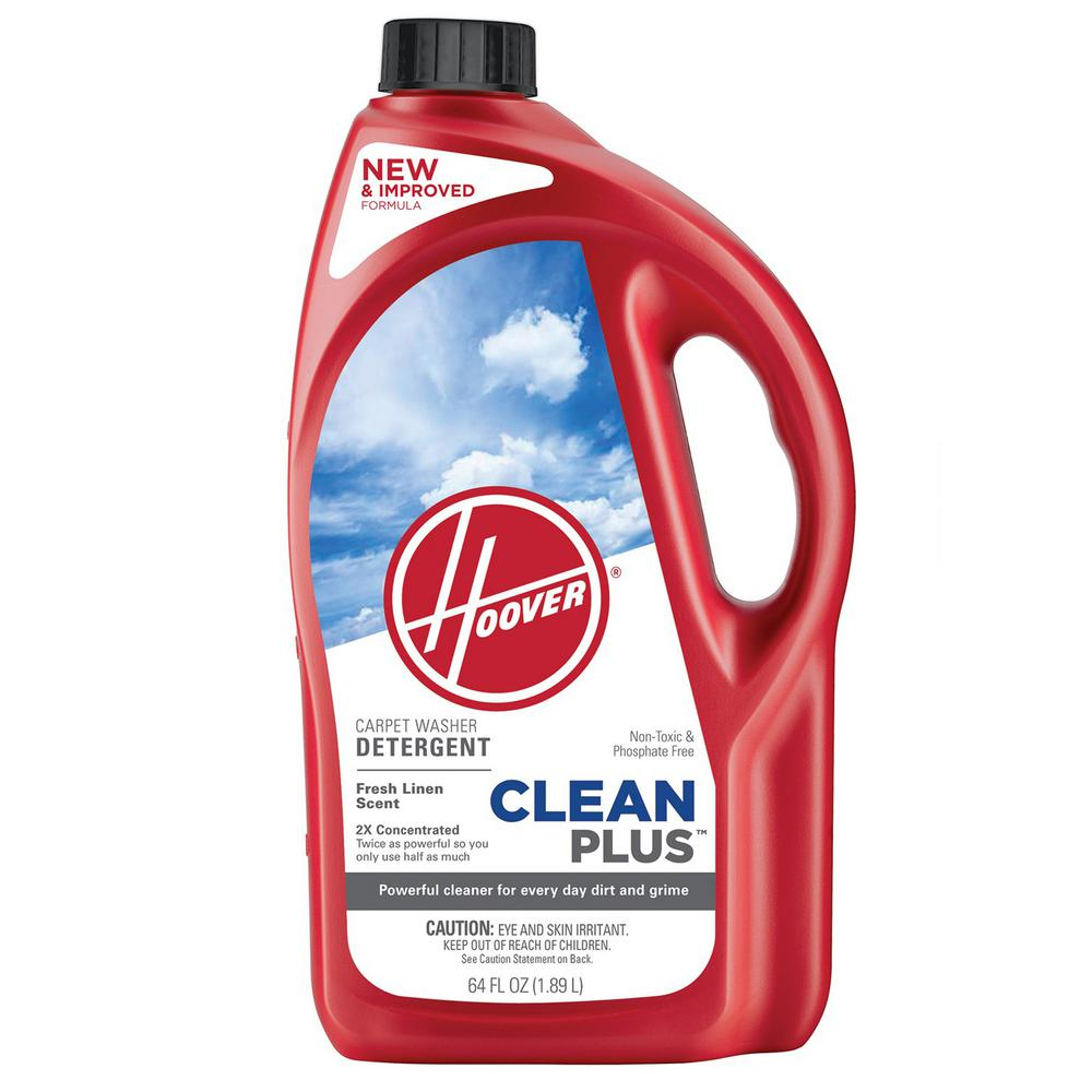 Hoover 64 oz. 2X CleanPlus All-Purpose Carpet Cleaner and Deodorizer-AH30330NF -