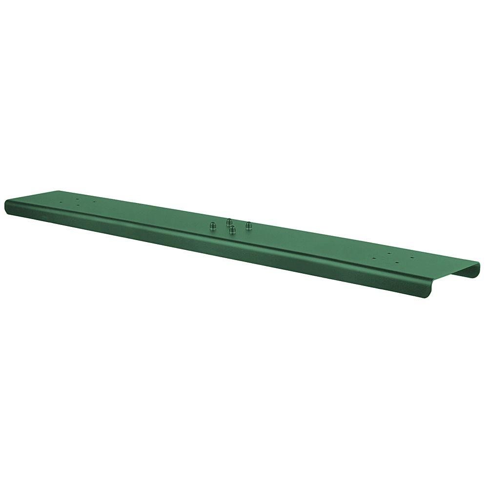 3-Wide Spreader for Salsbury Roadside Mailboxes in Green