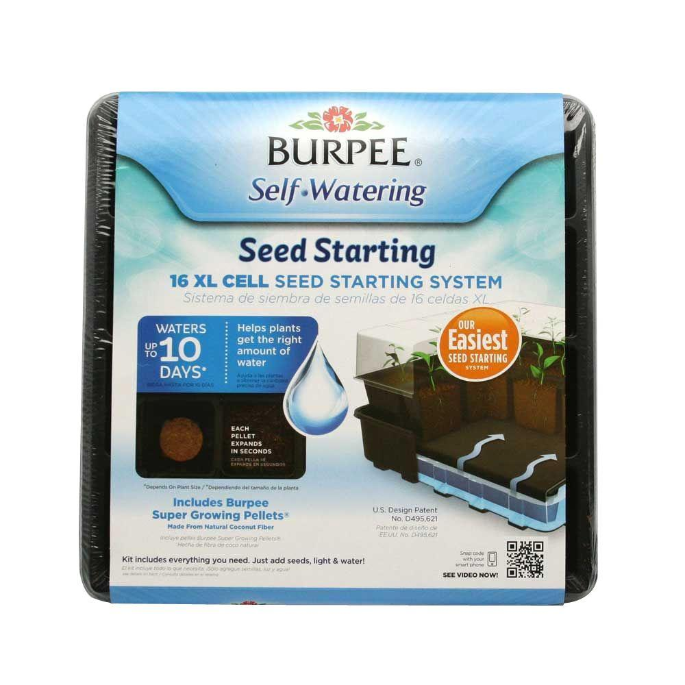 Burpee 16-Cell XL Self-Watering Greenhouse Kit-95016 - The Home Depot