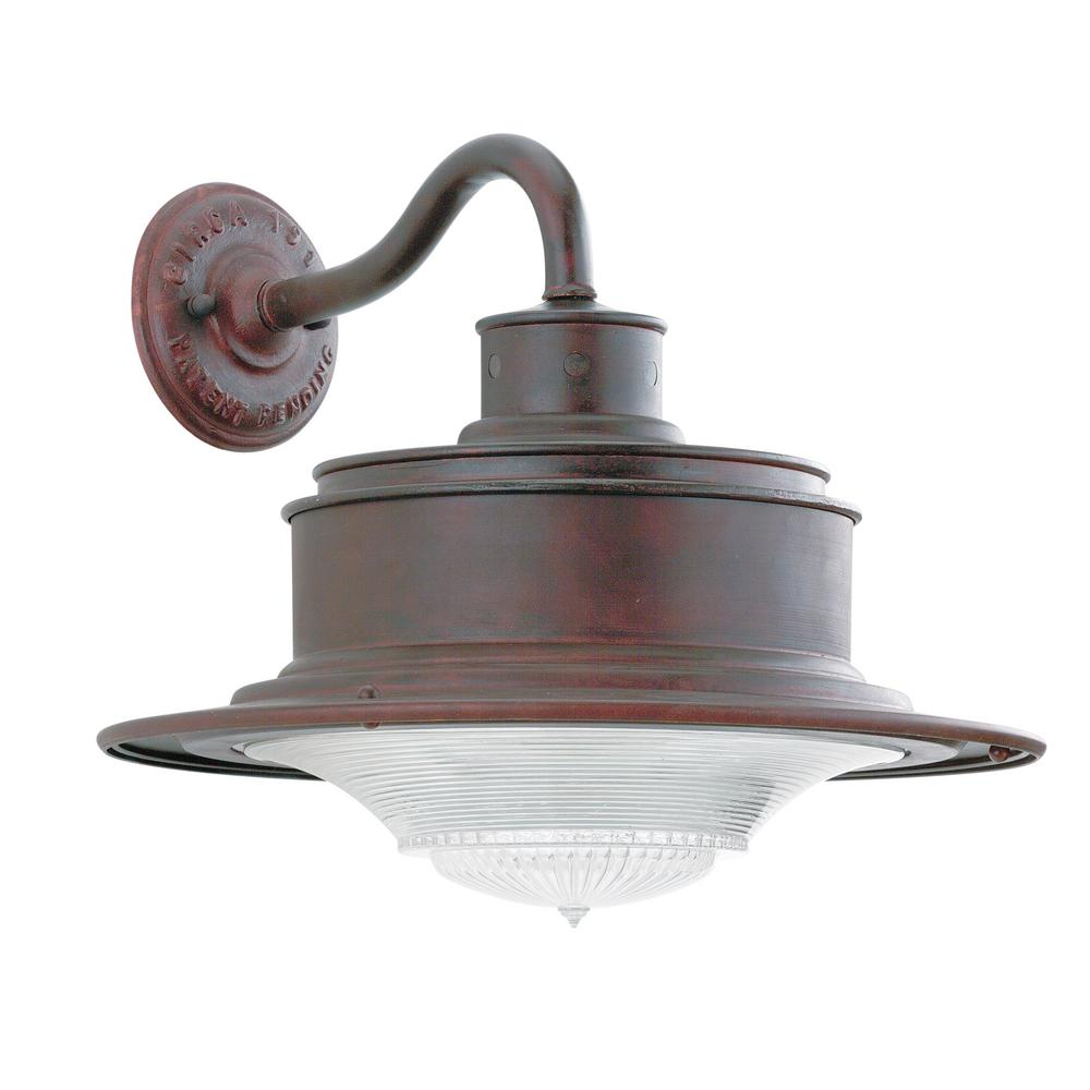South Street Old Rust Outdoor Wall Mount Lantern