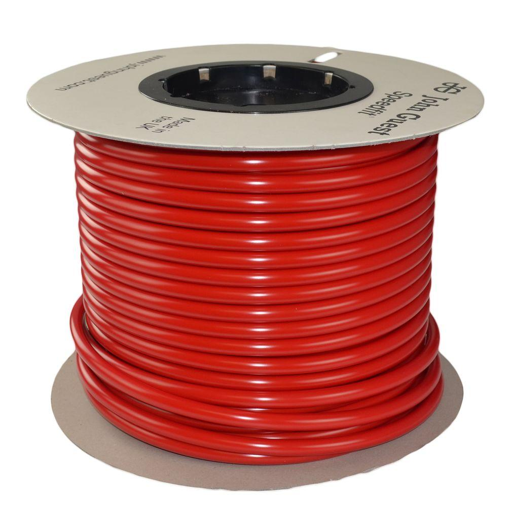 1/2 in. x 250 ft. Polyethylene Tubing Coil in Red
