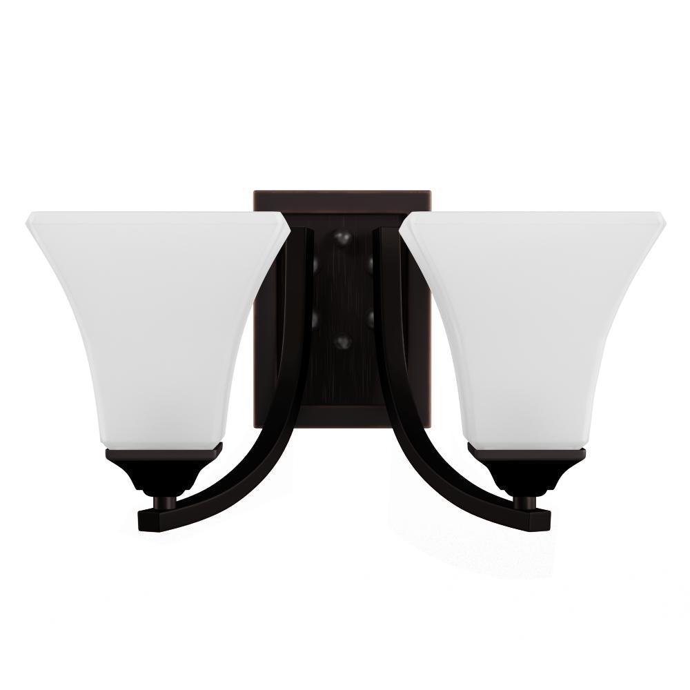 Maxim Lighting Aurora Oil-Rubbed Bronze Bath Vanity Light