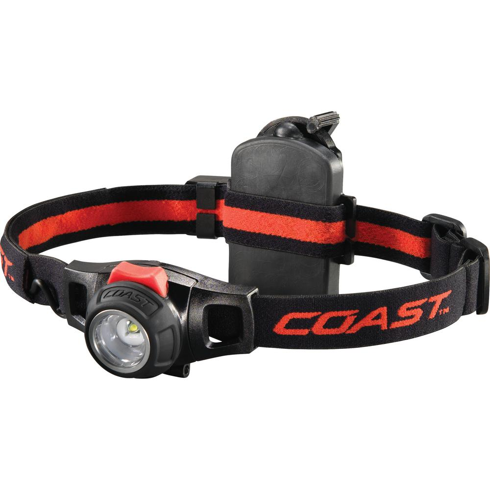 Coast HL7R 240 Lumen Focusing Dimming LED Headlamp-19274 - The Home