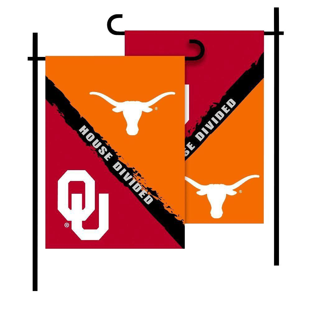 BSI Products NCAA Oklahoma-Texas House Divided 1 ft. x 1.5 ft.