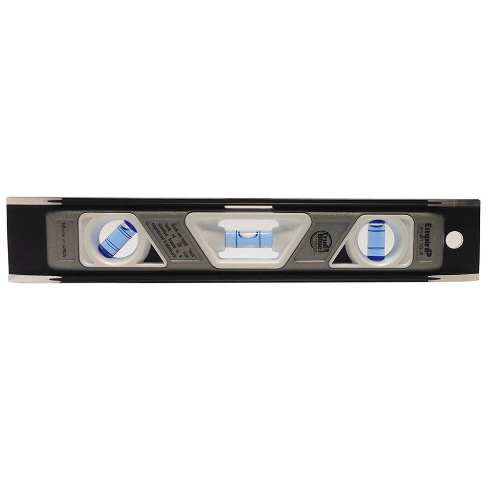 Empire True Blue 10 in. Heavy Duty Magnetic Torpedo Level