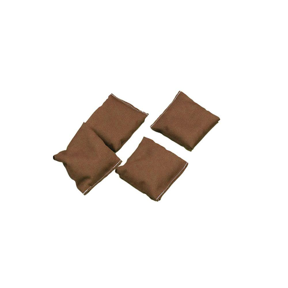 Brown Bean Bags (Set of 4