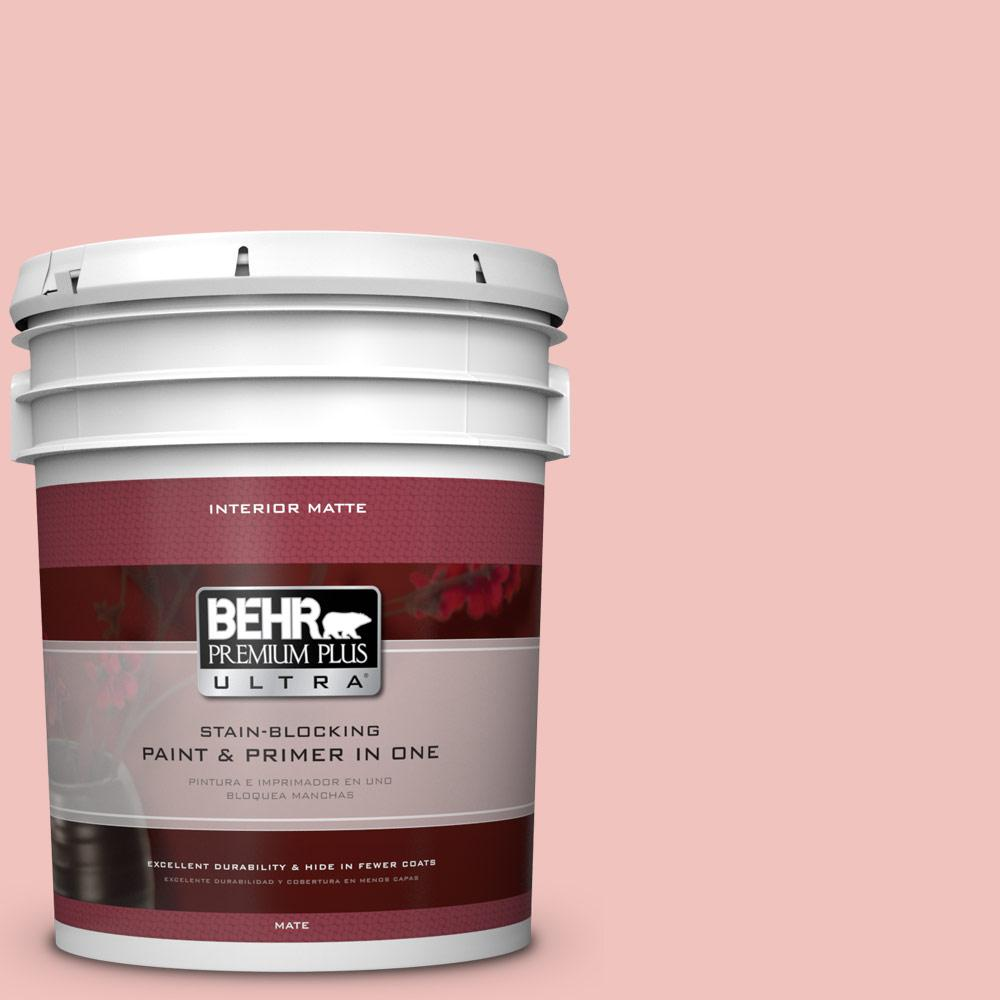 BEHR Premium Plus Ultra 5 gal. #M160-2 Taffy Twist Matte Interior
