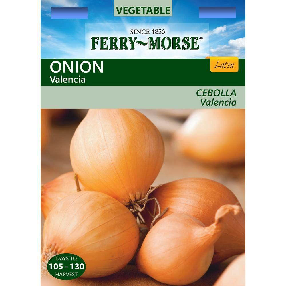 Ferry-Morse Onion Valencia Seed-4117 - The Home Depot
