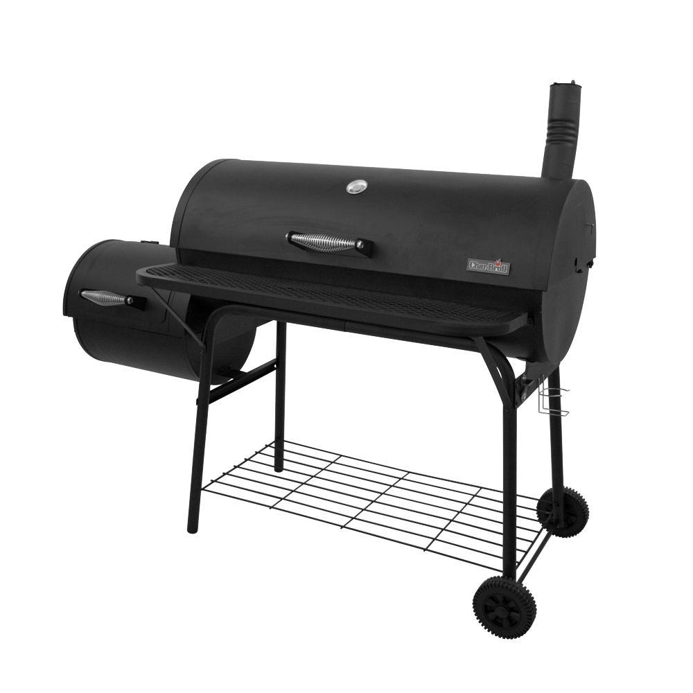 Char-Broil American Gourmet 700 Series 60.25 in. Charcoal Grill with Off-Set Firebox