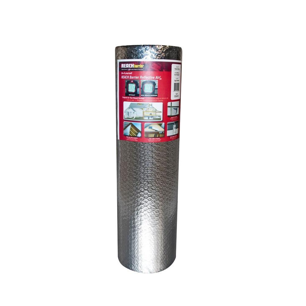 Reach Barrier 2 ft. x 25 ft. Double Reflective Insulation Roll