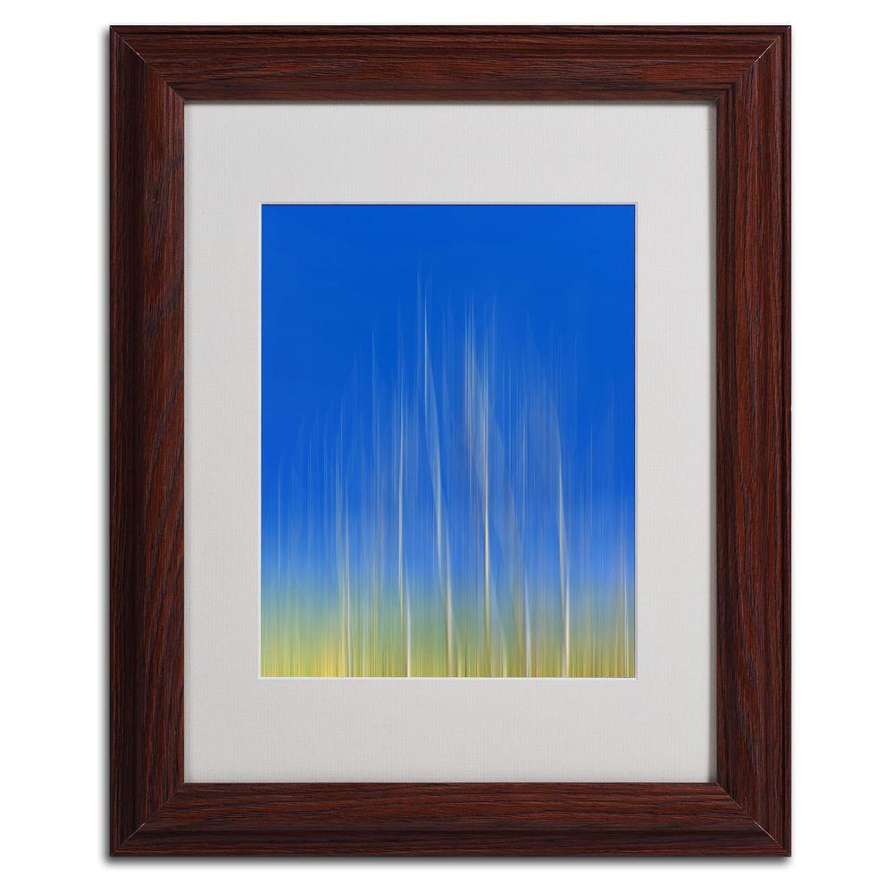 11 in. x 14 in. Vertical Activity Matted Framed Art