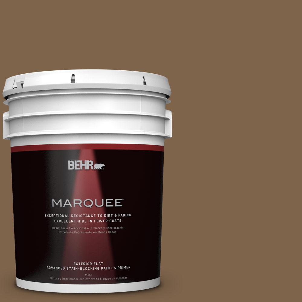 BEHR MARQUEE 5-gal. #PPU4-19 Arts and Crafts Flat Exterior Paint