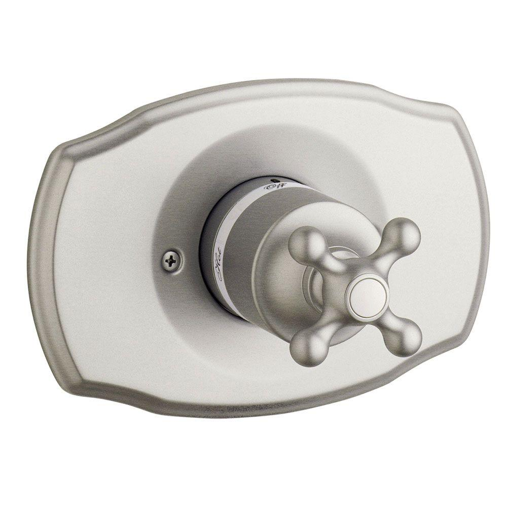 GROHE Seabury Single Handle Grohsafe Pressure Balance Valve Trim Kit in Brushed Nickel (Valve Sold Separately)