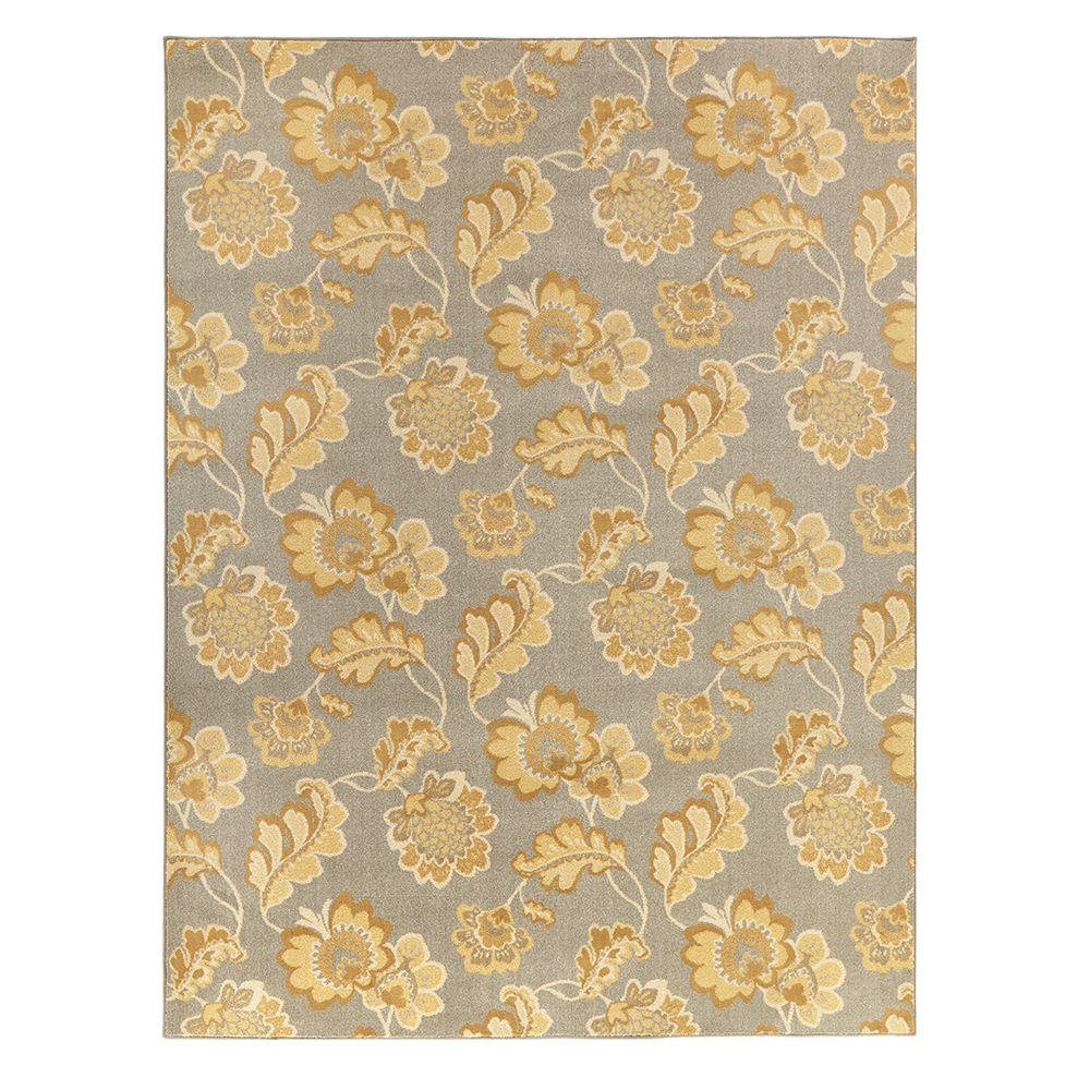 Calypso Sand Beige 8 ft. x 8 ft. Square Area Rug