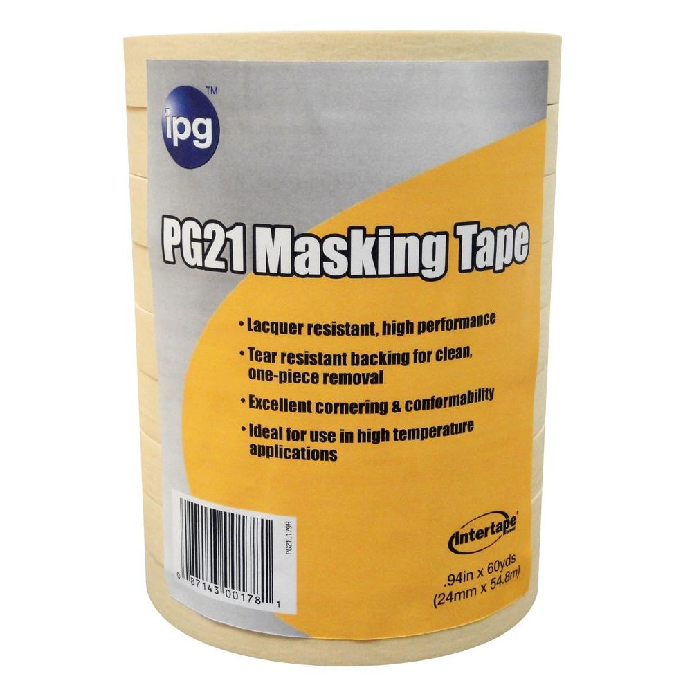 PG 21 1 in. x 60 yd. Lacquer Resistant Performance Grade