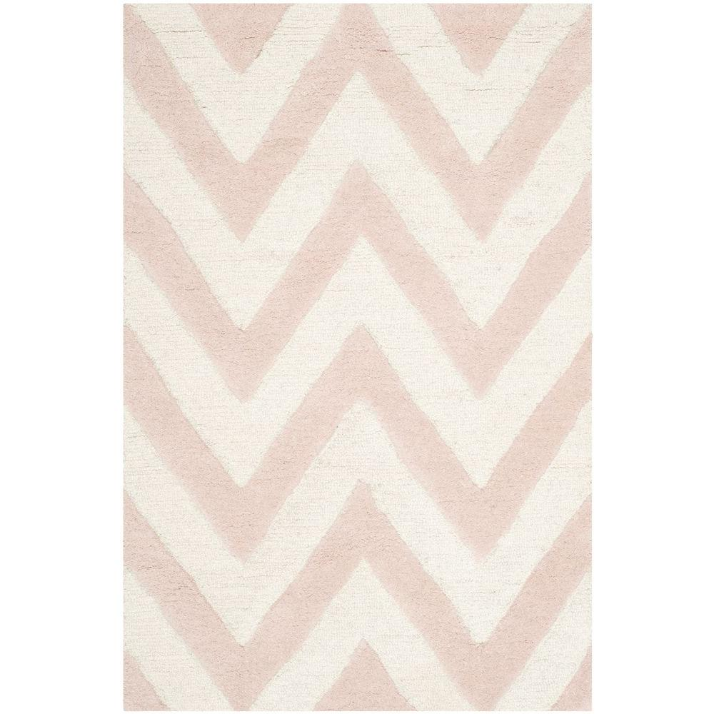 Cambridge Light Pink/Ivory 2 ft. x 3 ft. Area Rug