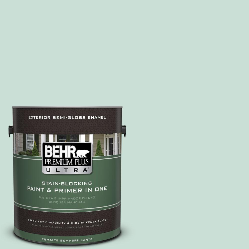 1-gal. #M430-2 Ice Rink Semi-Gloss Enamel Exterior Paint