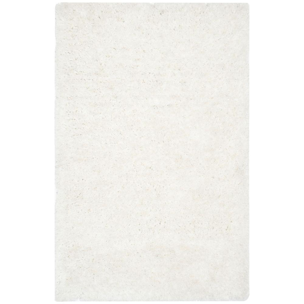 Safavieh Supreme Shag Ivory 3 ft. x 5 ft. Area Rug-SGS621A-3