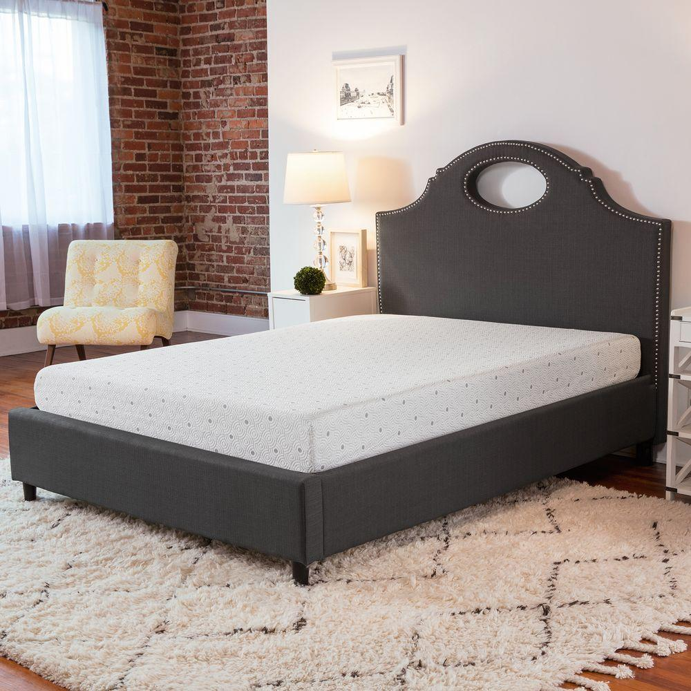 BioPEDIC Deluxe 8 in. King-Size Memory Foam Mattress-96214 - The Home