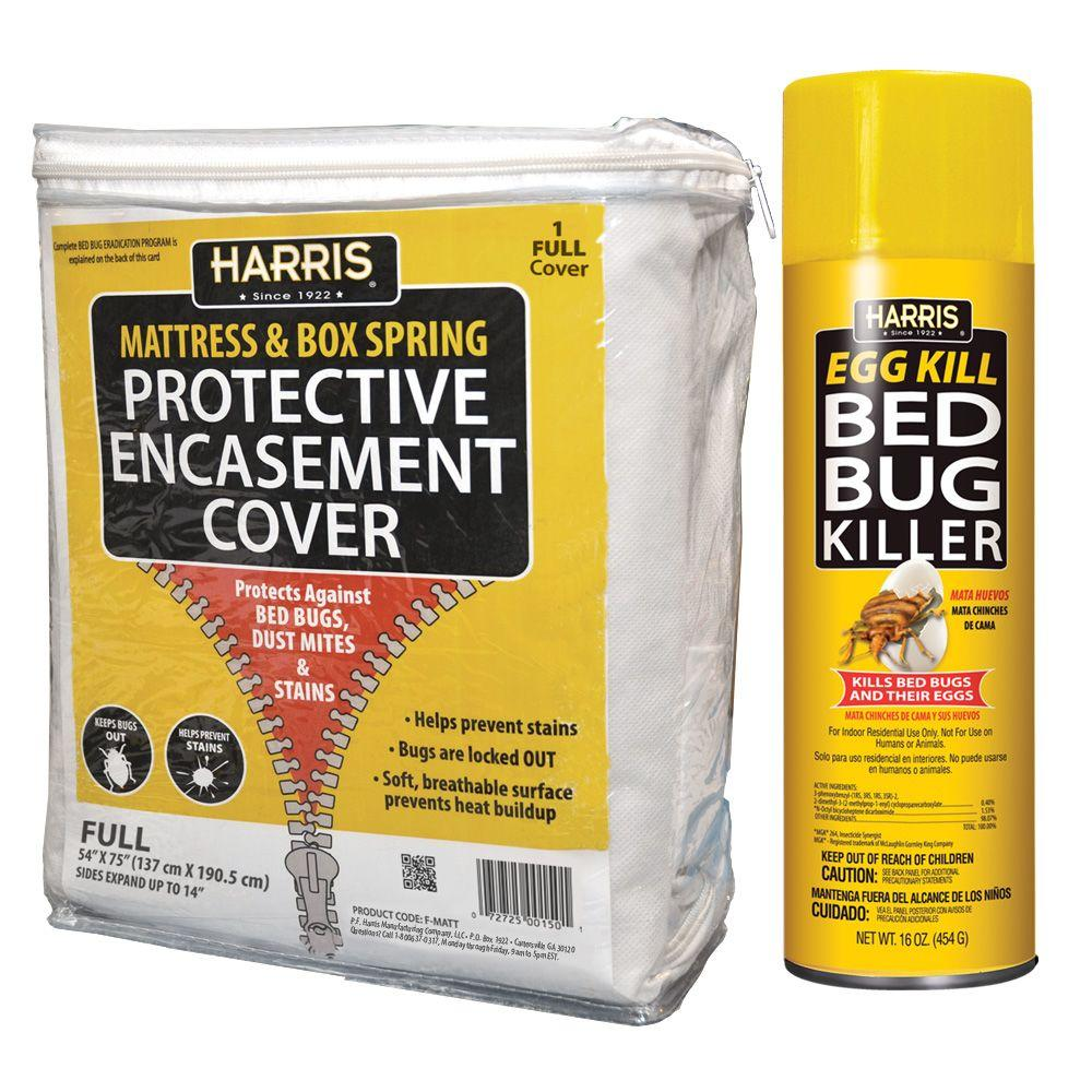 harris full bed bug mattress cover and bed bug spray value With bed bug repellent mattress cover