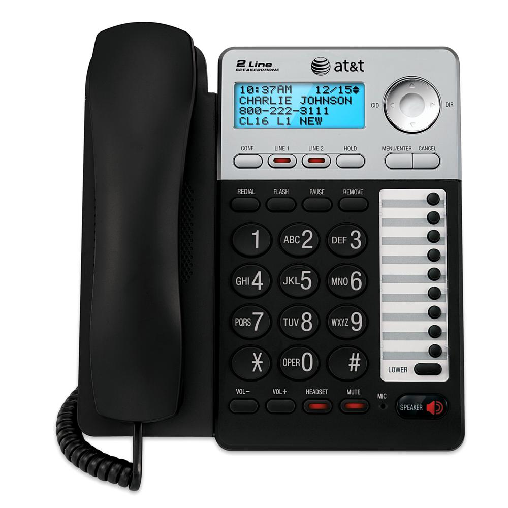 AT&T 2-Line Speakerphone with Caller ID/CW