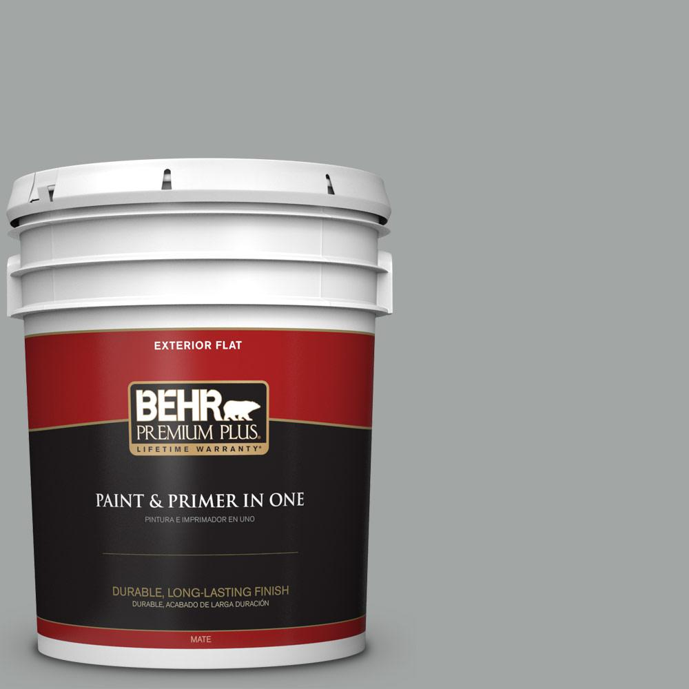 5 gal. #PPU25-16 Chain Reaction Flat Exterior Paint