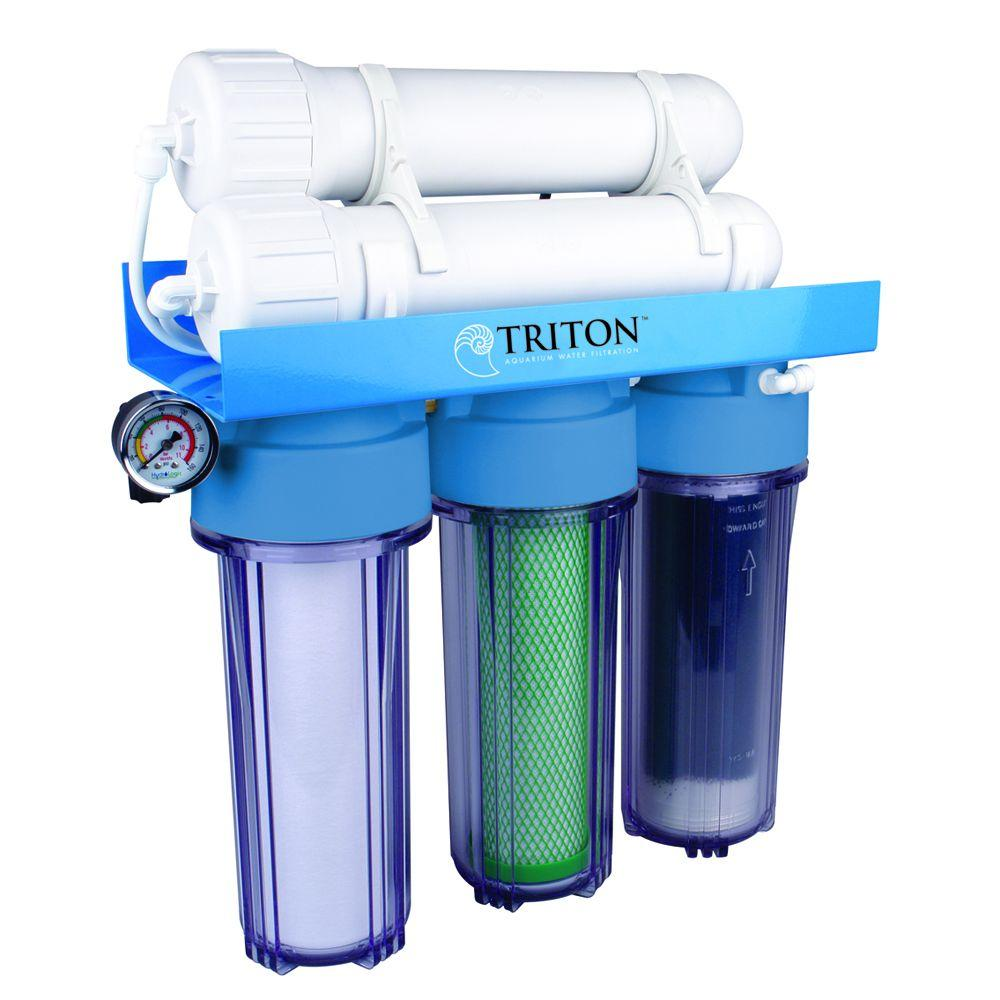 Triton di200 gpd aquarium water filtration system for Fish filter system