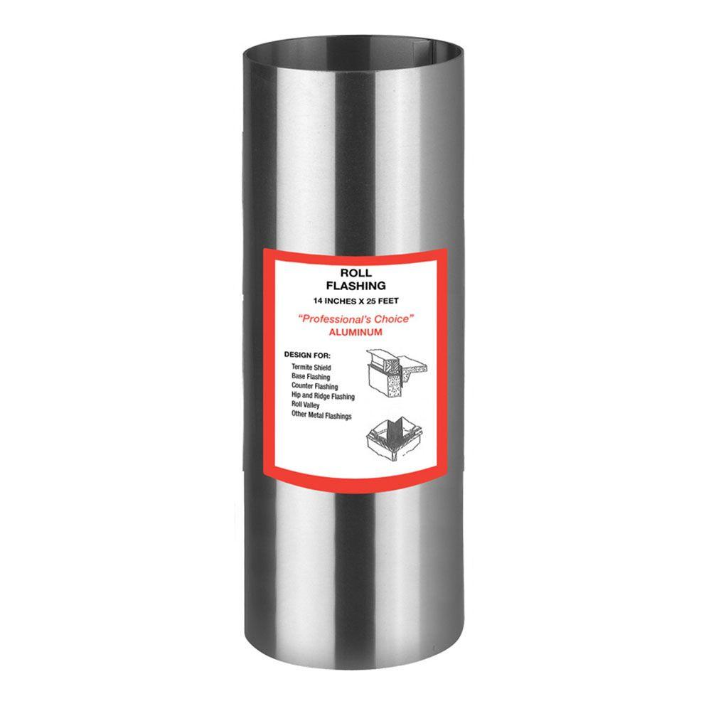 Gibraltar Building Products 14 in. x 25 ft. Aluminum Roll Valley Flashing