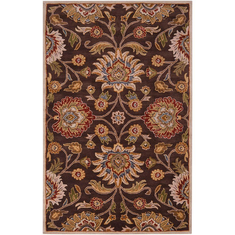 Artistic Weavers Artes Chocolate 4 ft. x 6 ft. Area Rug-Artes-46
