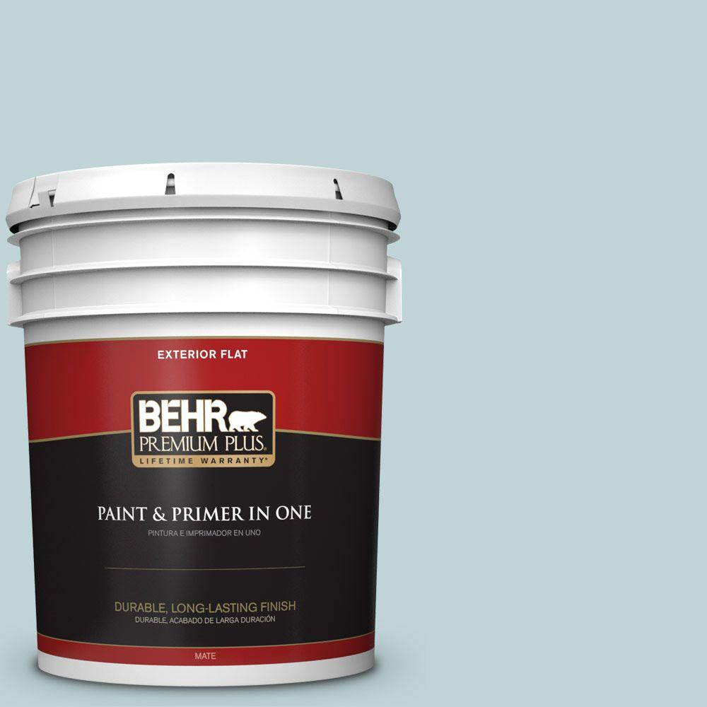 5-gal. #500E-3 Rain Washed Flat Exterior Paint