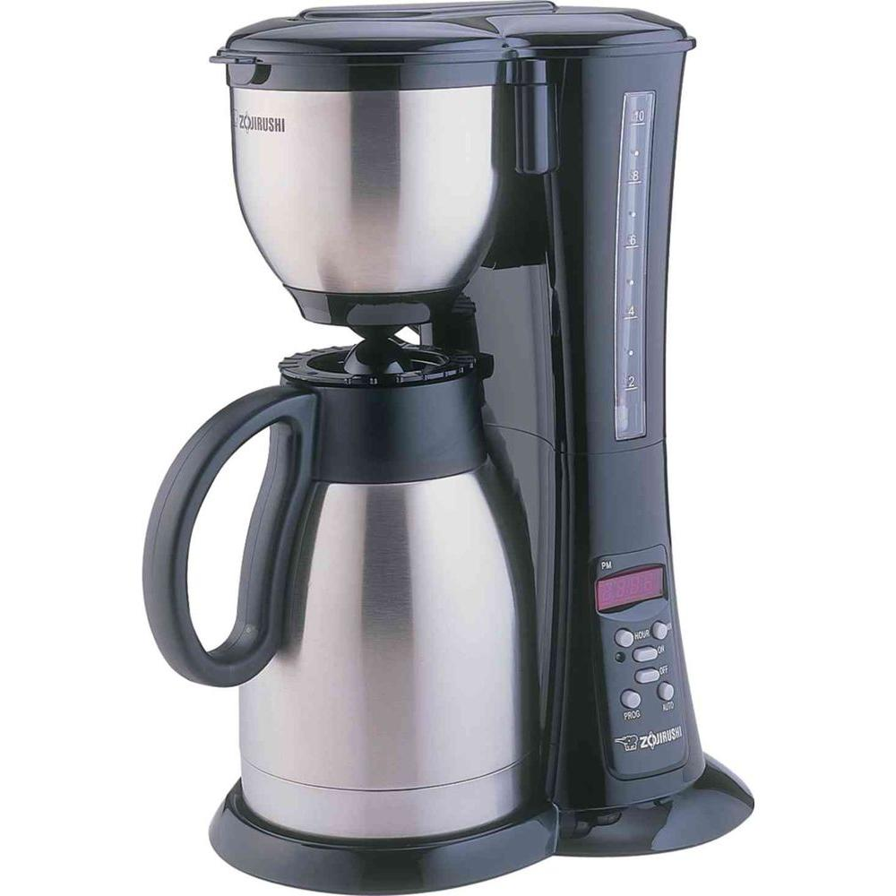 Fresh Brew Stainless Steel Thermal Carafe Coffee Maker
