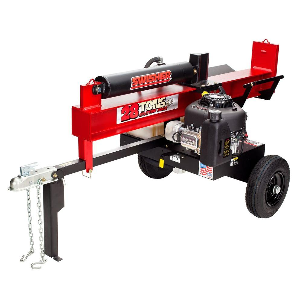 Swisher 344 cc 28-Ton Gas Log Splitter-DISCONTINUED