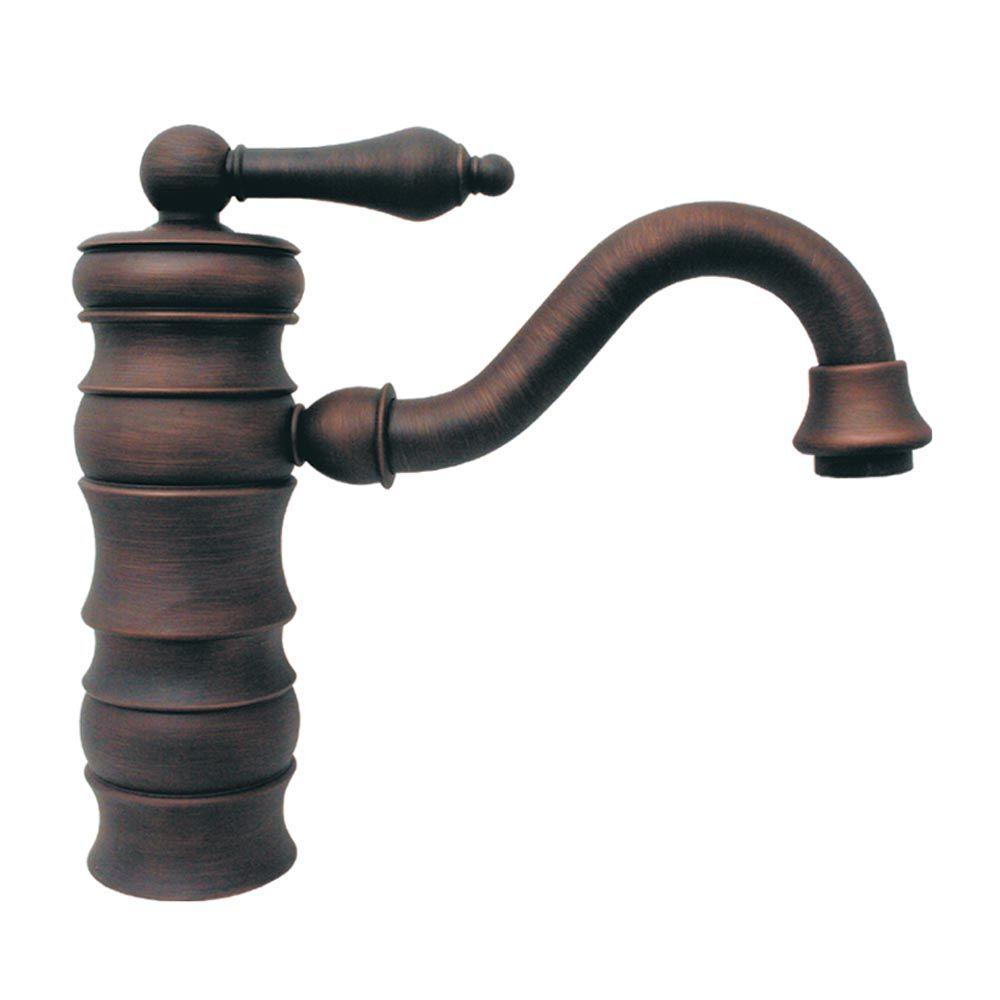 Whitehaus Collection Vintage III 1-Handle Bath Faucet in Mahogany Bronze