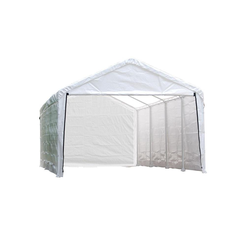 ShelterLogic Enclosure Kit for Super Max 12 ft. x 26 ft. White Canopy (Canopy and Frame not Included)