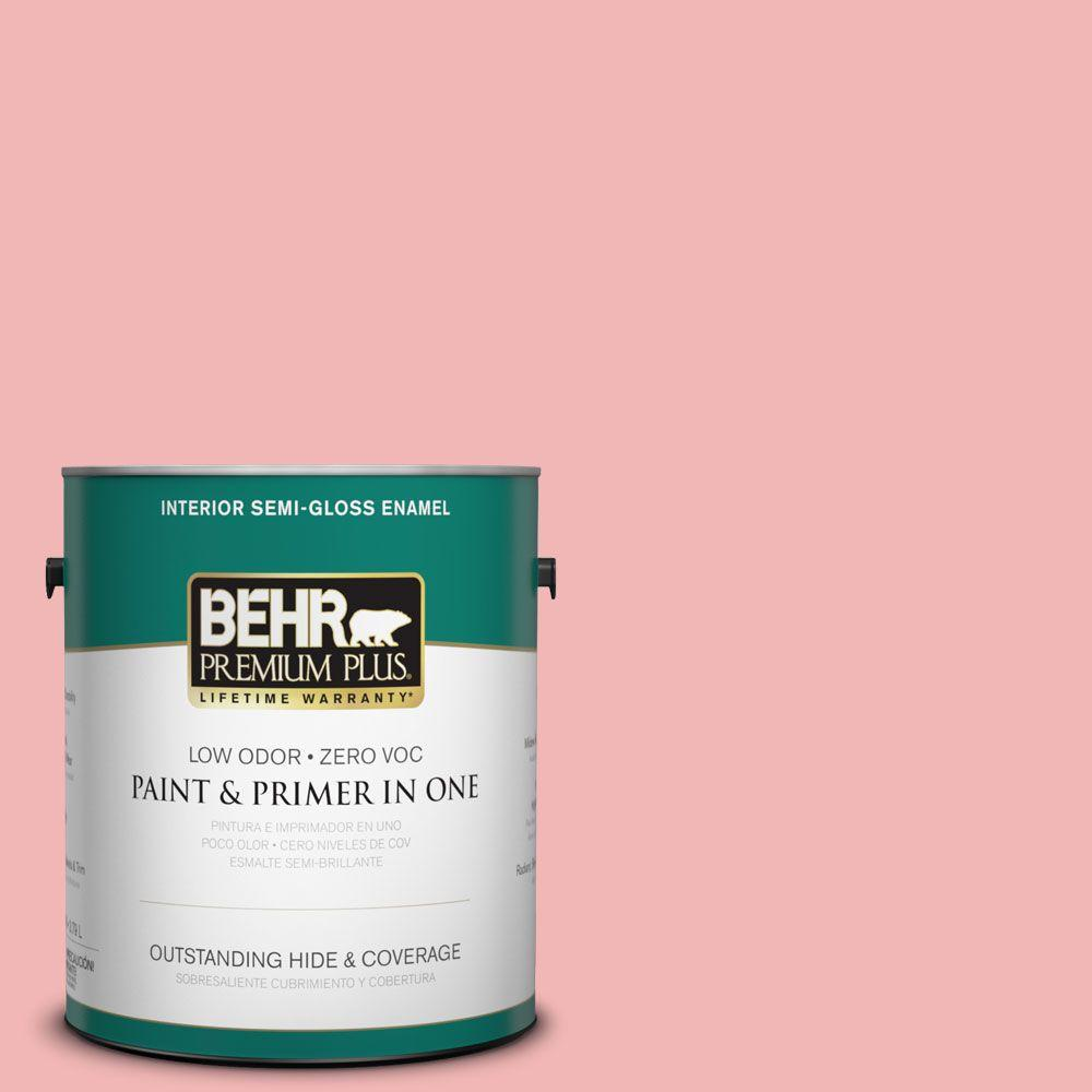 1-gal. #P170-2 Old Flame Semi-Gloss Enamel Interior Paint