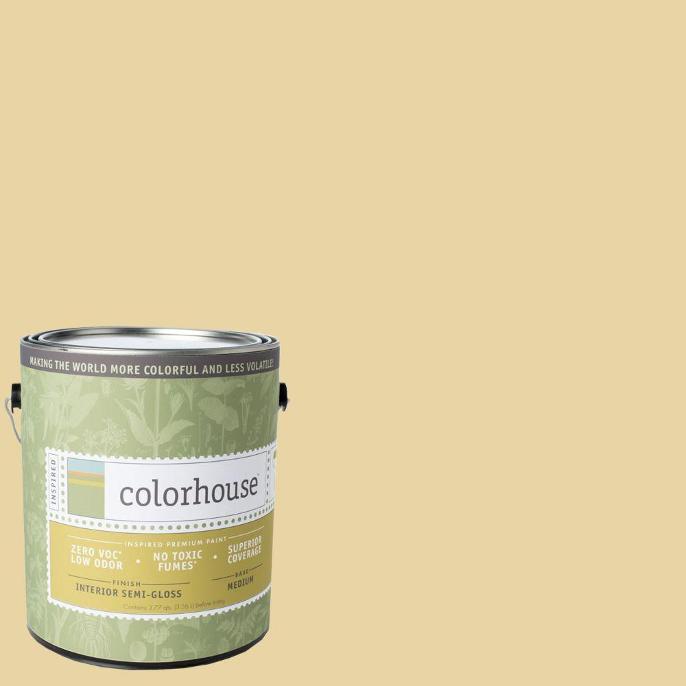 Colorhouse 1-gal. Stone .01 Semi-Gloss Interior Paint