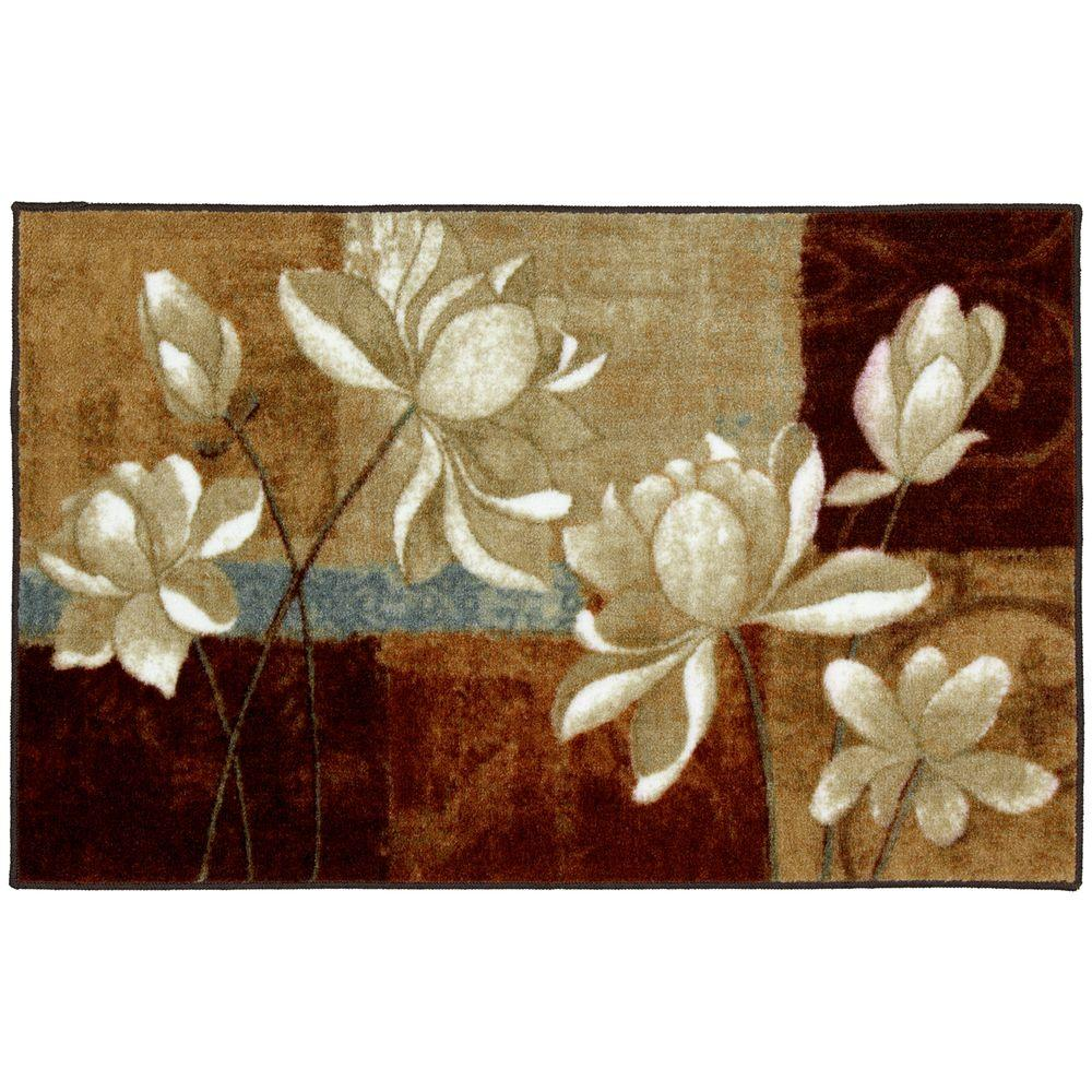 null Fiori Copper 1 ft. 8 in. x 2 ft. 10 in. Accent Rug-DISCONTINUED