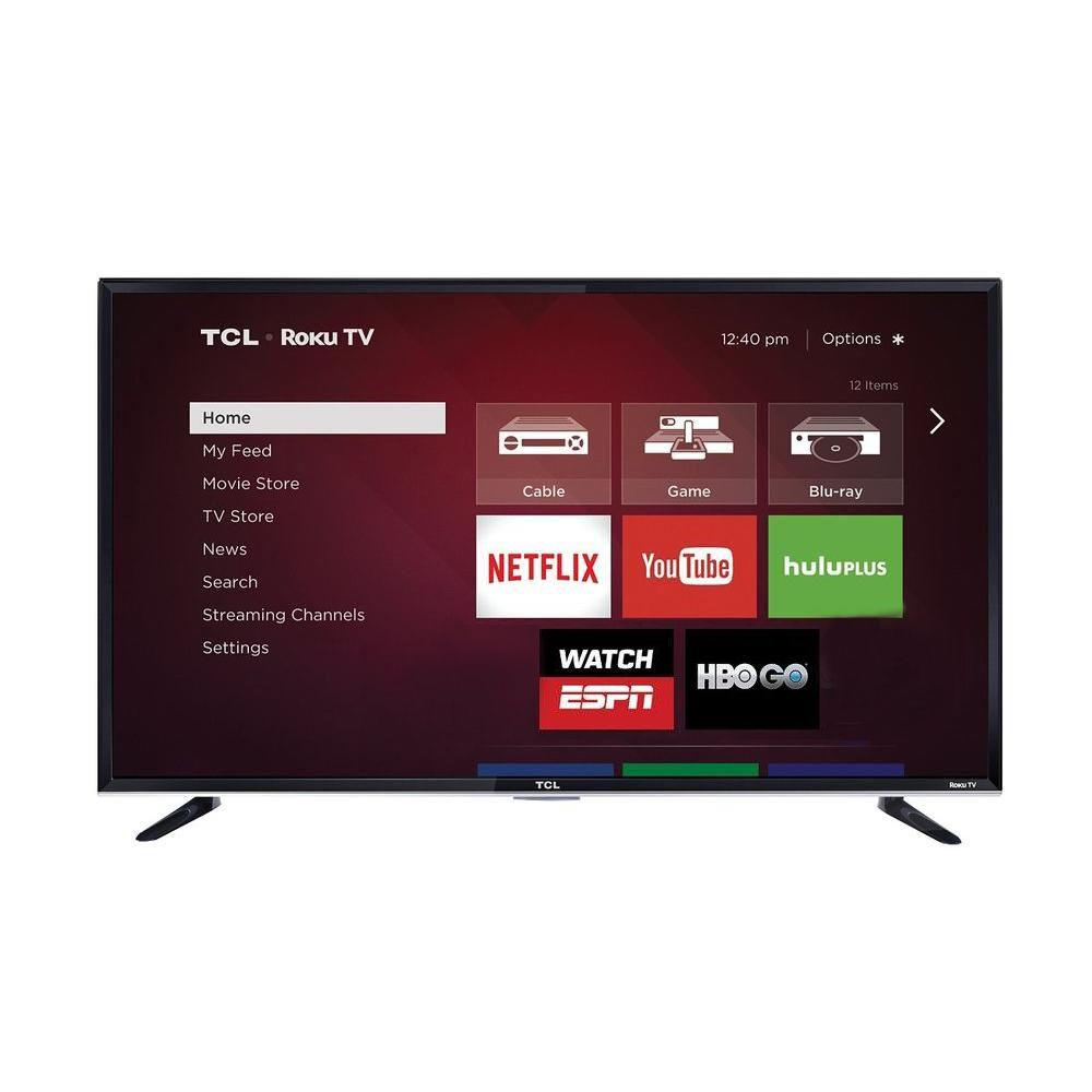 50 in. Smart LED 1,080p 120Hz Roku TV