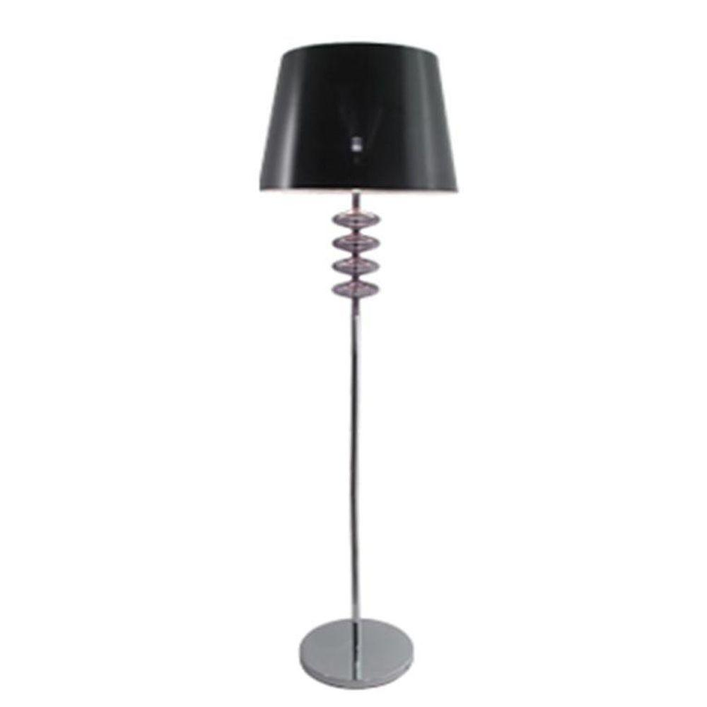 BAZZ Bolo Collection 65.5 in. Chrome Floor Lamp-DISCONTINUED