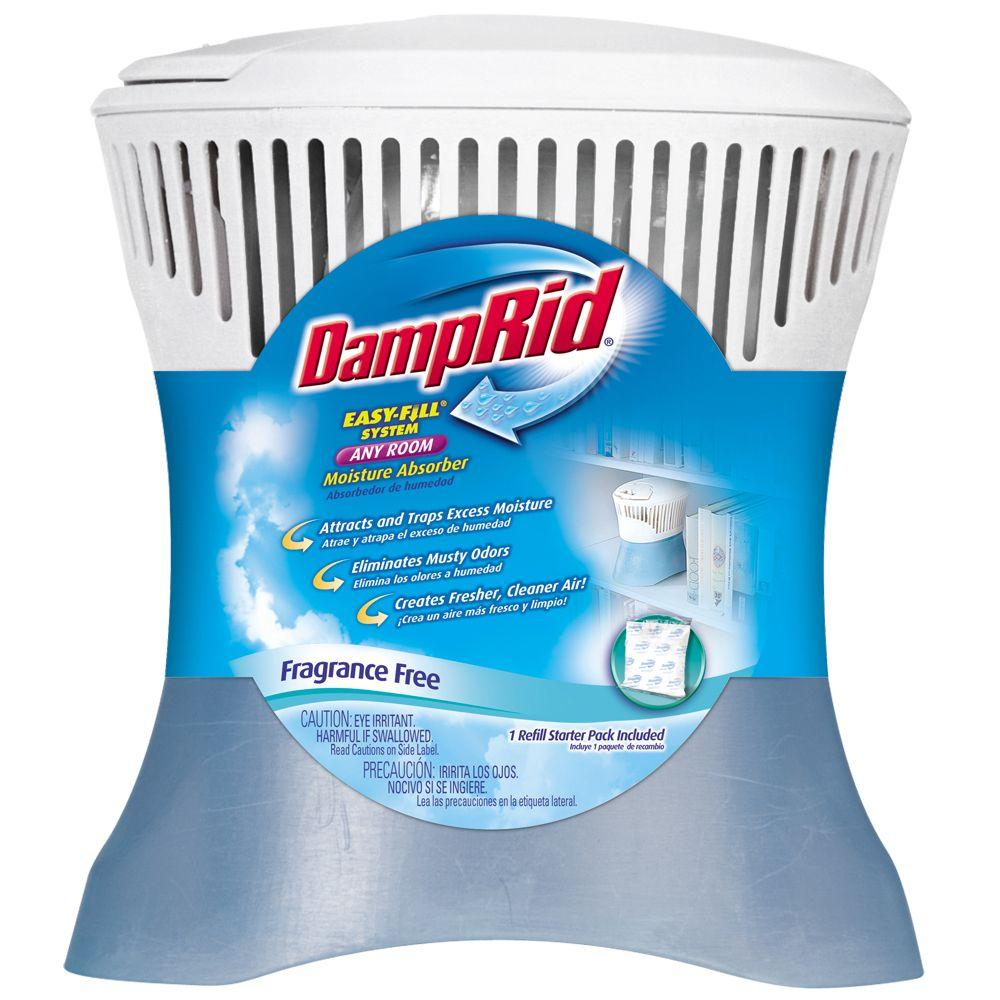 DampRid Easy-Fill System 10.5 oz. Fragrance Free Any Room Moisture Absorber